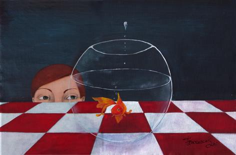 pesciolino rosso - Francesca Sai