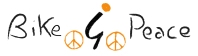 bike4peace logo handwriting
